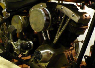 Motor na svém místě
