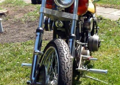 Harley Davidson zepředu
